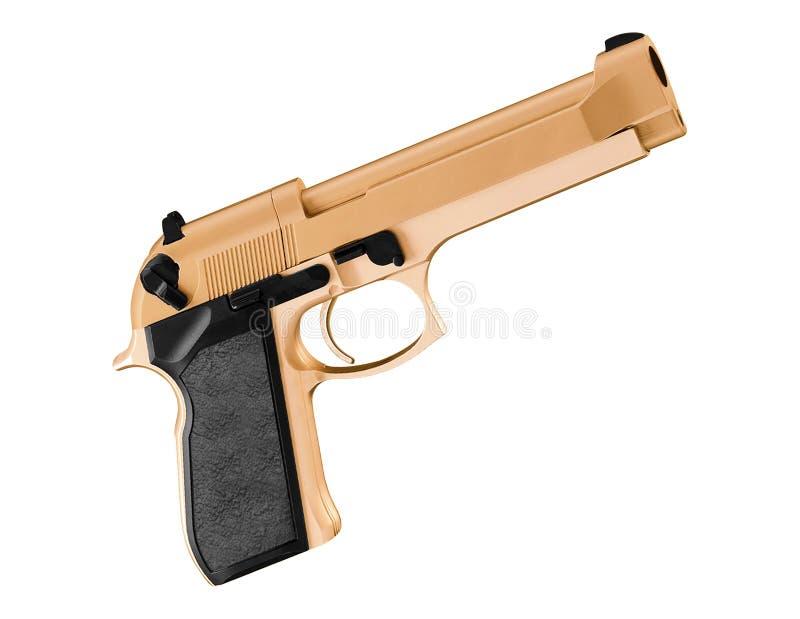 Handeldvapen för 45 kaliber arkivbilder