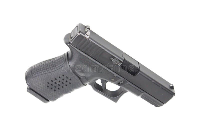 Handeldvapen på vit bakgrund royaltyfri fotografi