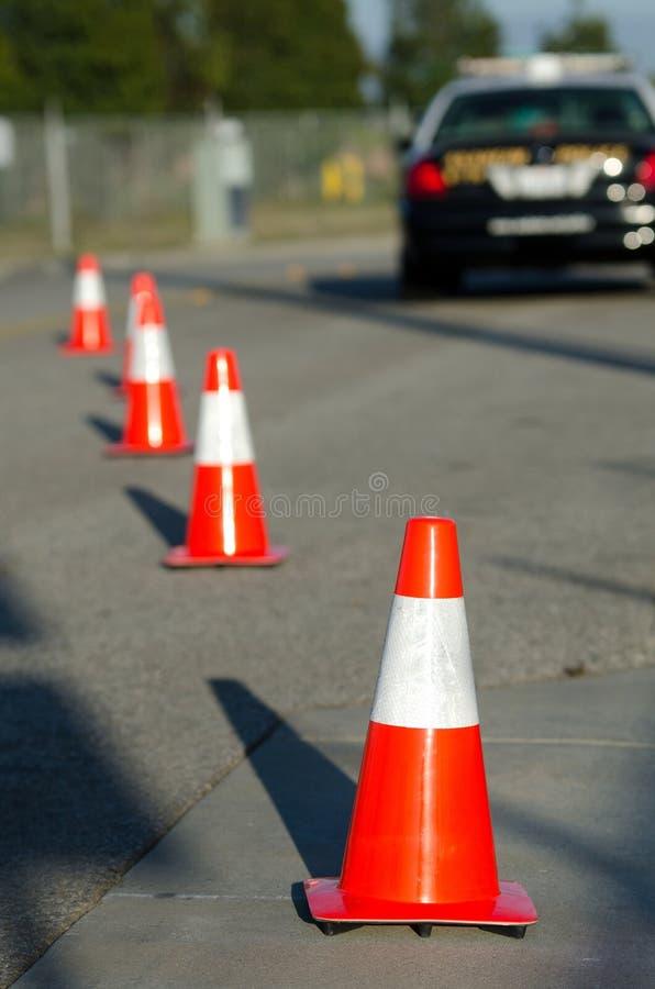 Verkehrssteuerung Stockbild