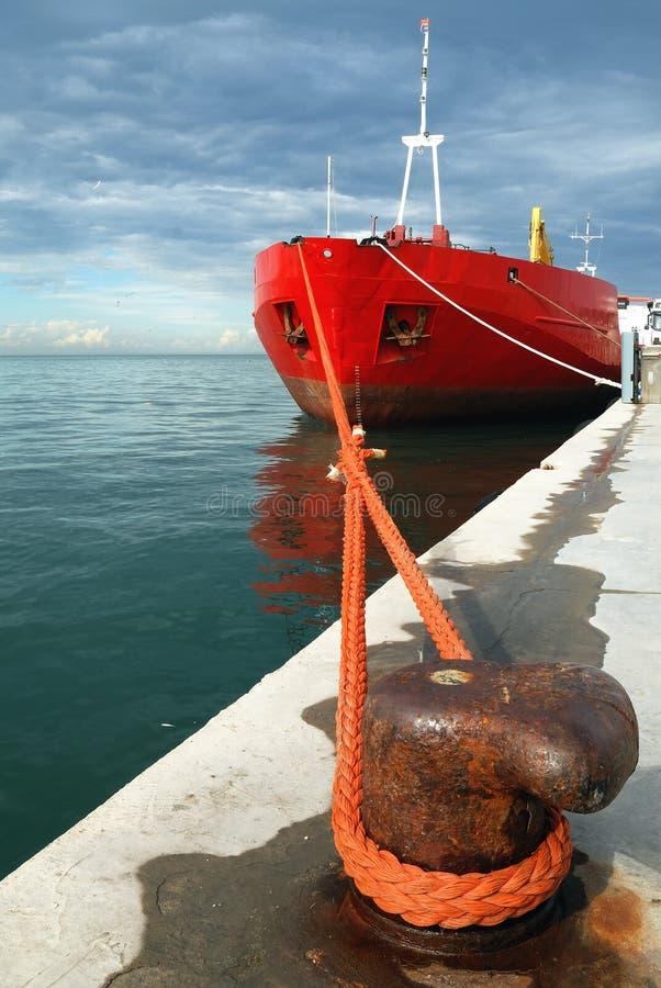handels- ship royaltyfri fotografi