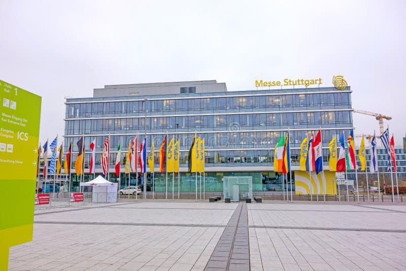Handelsmesse Stuttgart lizenzfreies stockfoto