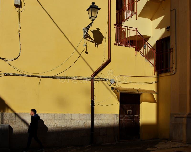 Handelsresande i Italien royaltyfri foto