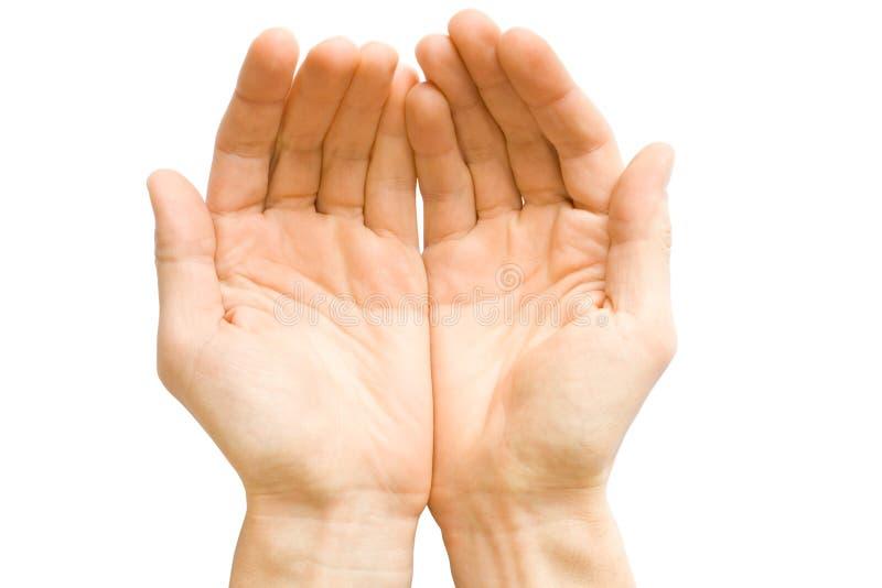 Handen stock afbeelding