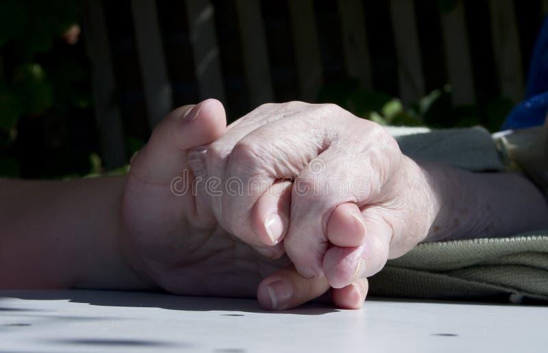 Handen stock afbeeldingen
