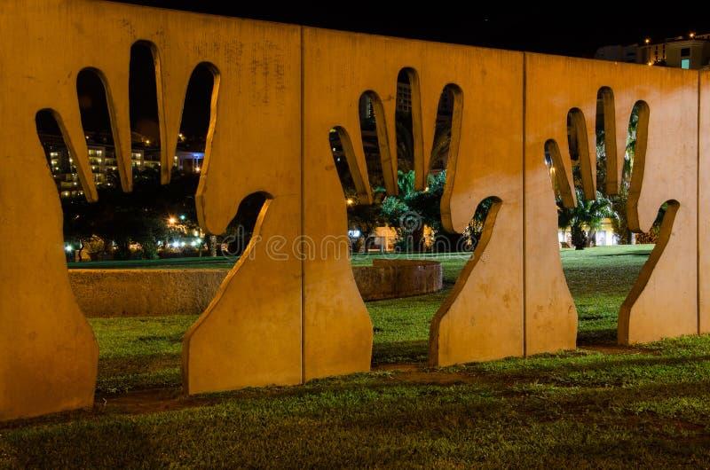 Handen stock foto