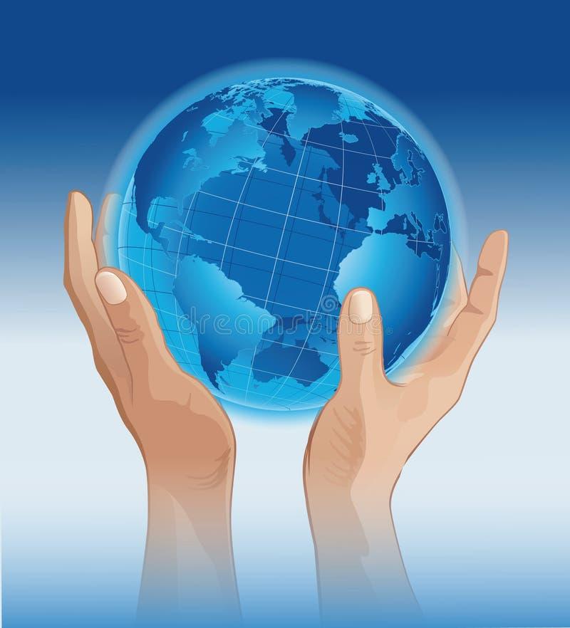 Handen aan de wereld