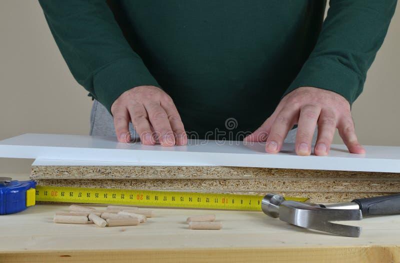 Handen, Elementen en Hulpmiddelen stock foto