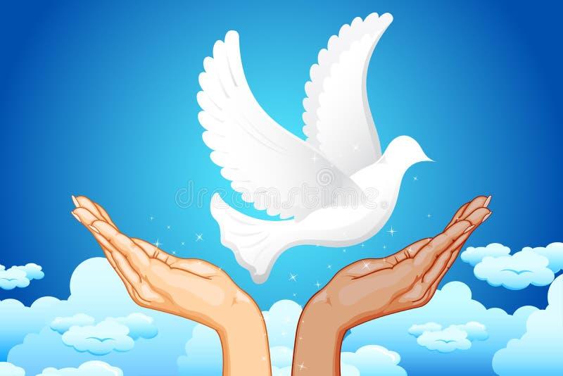 Handen voor Vrede vector illustratie