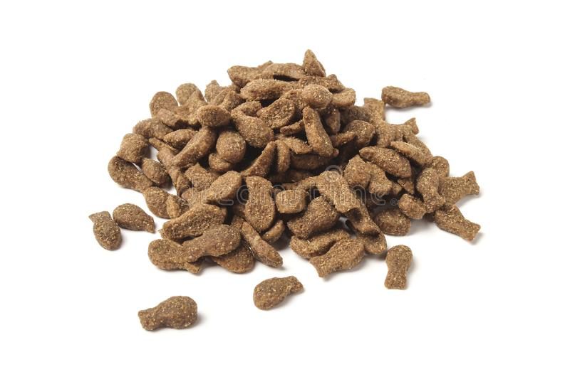 Dry food for cats royalty free stock photos