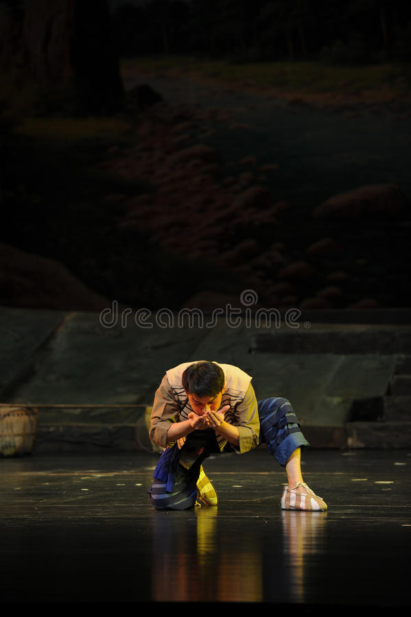 A handful of water- Jiangxi opera a steelyard. Jiangxi opera a steelyard is adapted from a true story: the last century fortys, the protagonists father runs an stock photo