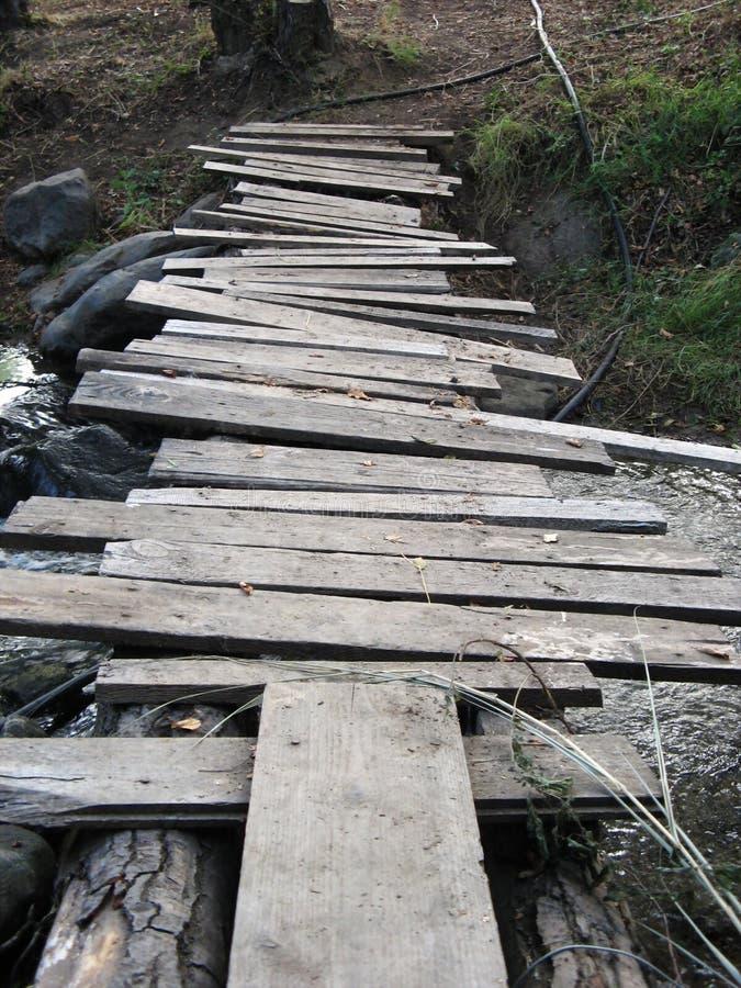 Handgemachte Brücke lizenzfreie stockfotos