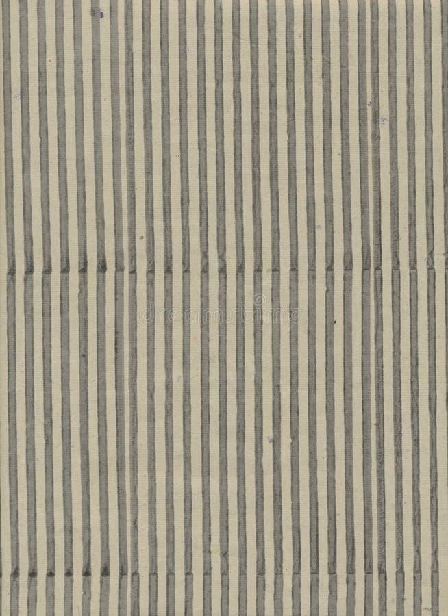 Handgemachte Creme mit schwarzem Streifen maserte Papierhintergrund lizenzfreie stockbilder