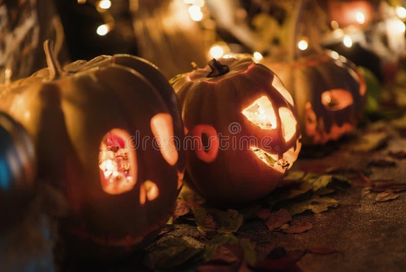 Handgemachte Hauptdekoration für die Feier von Halloween lizenzfreie stockfotos