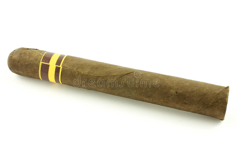 Handgemachte Zigarre stockbilder
