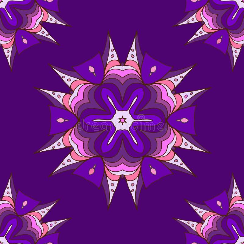 Handgemachtes abstraktes Muster stock abbildung