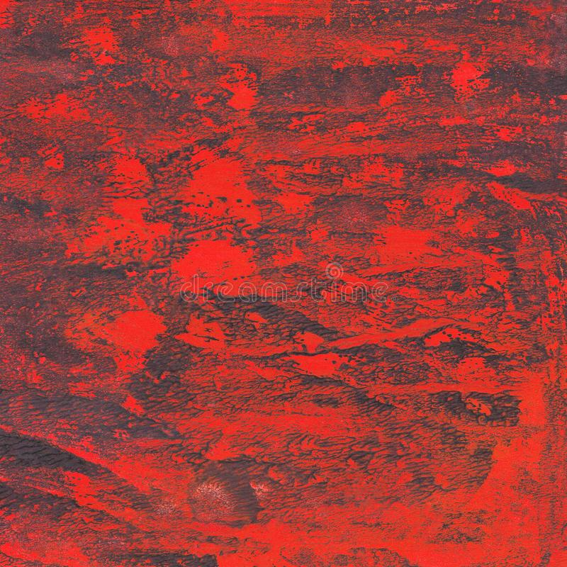 Handgemalt, spritzt Aquarellhintergrund, malt, Anschläge, Abstraktion vektor abbildung