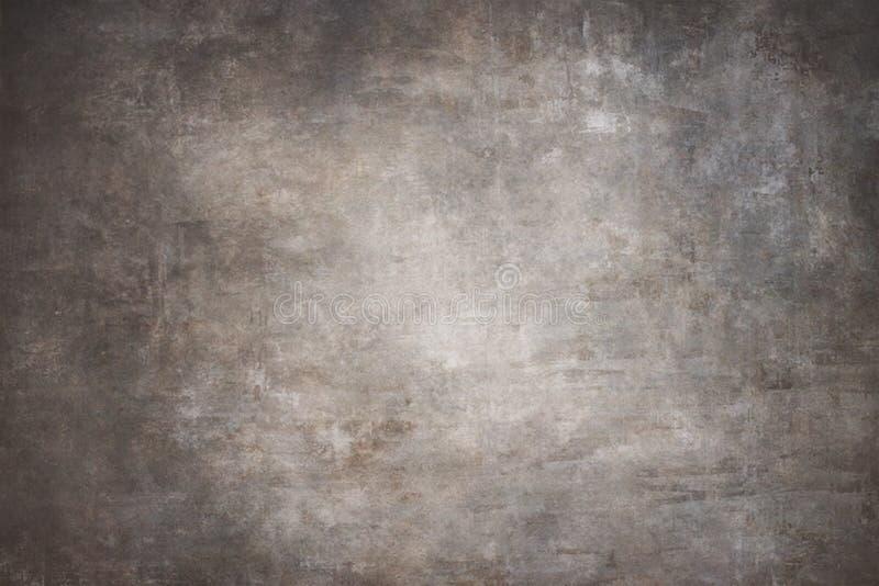 Handgemalte Hintergründe des grauen Segeltuches stockbilder