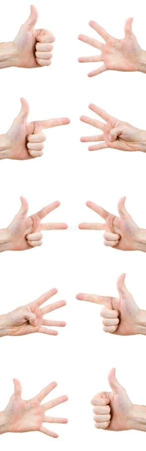 Handgesten lizenzfreies stockfoto