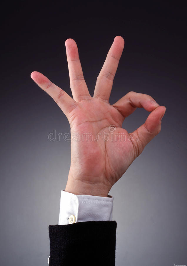 Handgesten lizenzfreies stockbild
