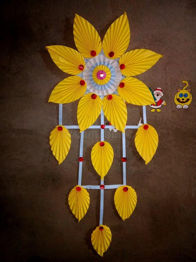Handgjord blomma arkivfoton