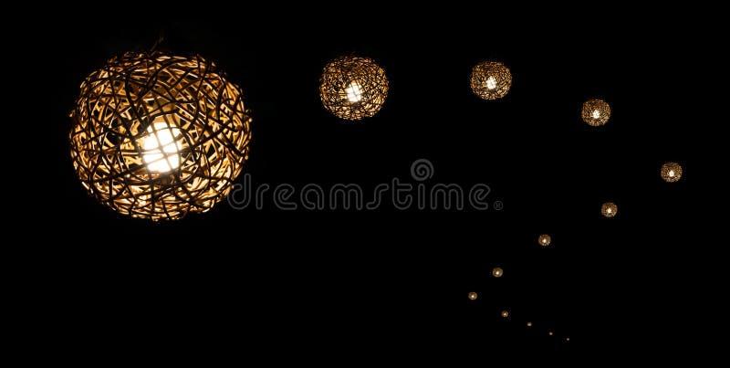 handgjord lampa arkivfoton