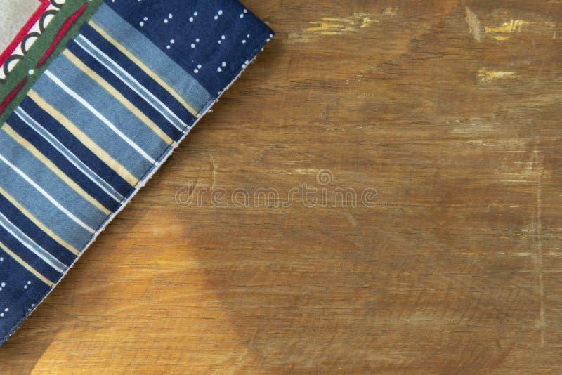 handgjord matr?tttorkduk royaltyfri fotografi
