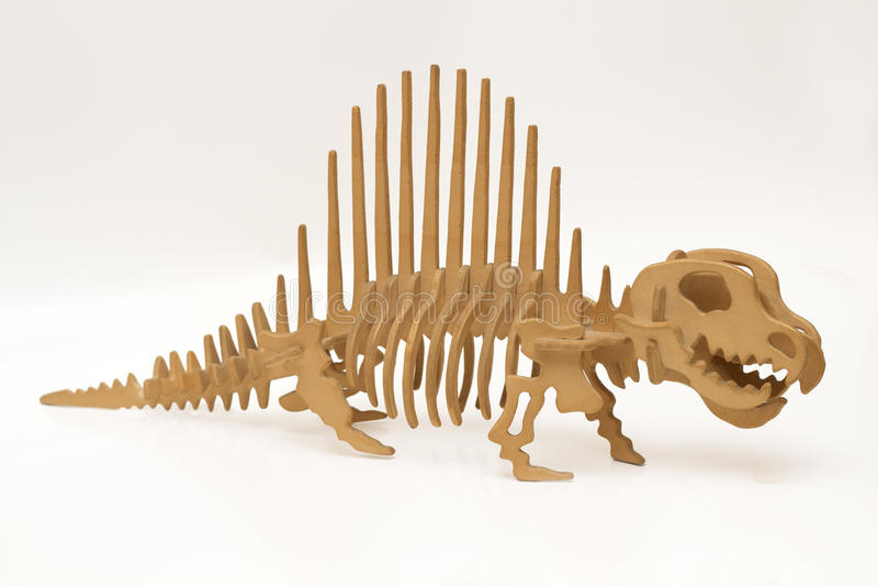 Handgjord trädinosaurie royaltyfri fotografi
