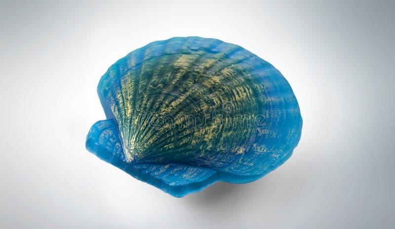 Handgjord tvål Shell arkivfoton