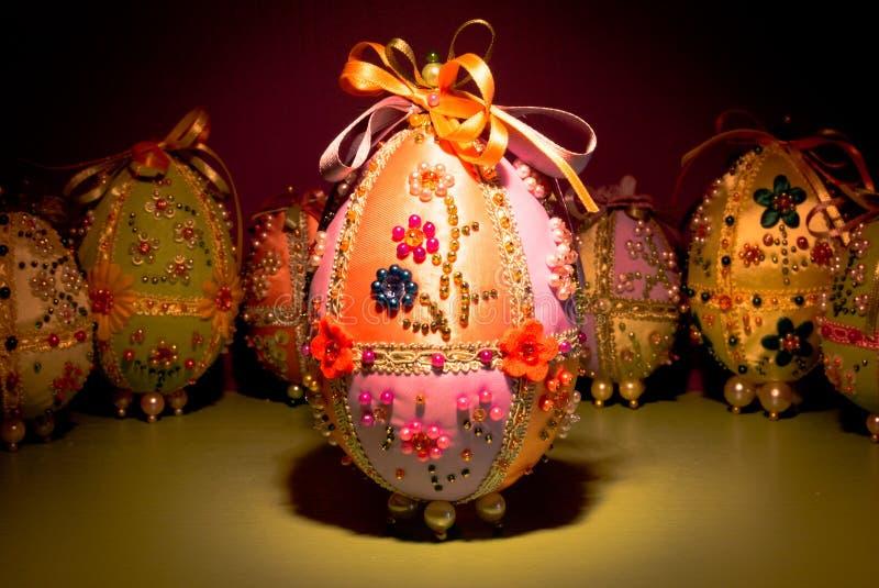 handgjorda easter ägg arkivbild