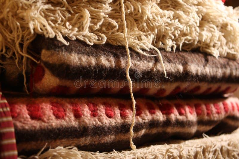 Handgjorda mattor royaltyfri bild