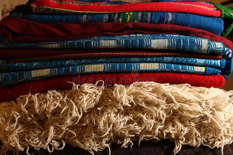 Handgjorda mattor arkivfoton