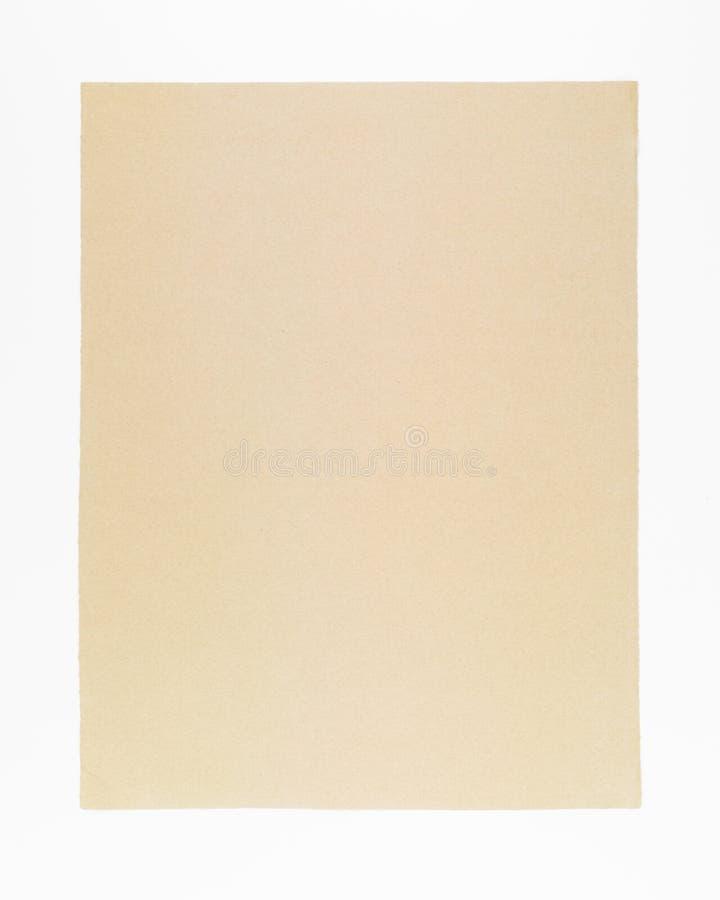 Handgjort papper för historisk dokumentbakgrund royaltyfri bild