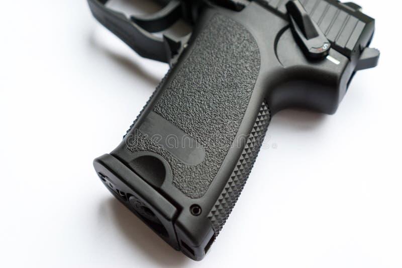 Handgreep van een kanon of een pistool royalty-vrije stock fotografie