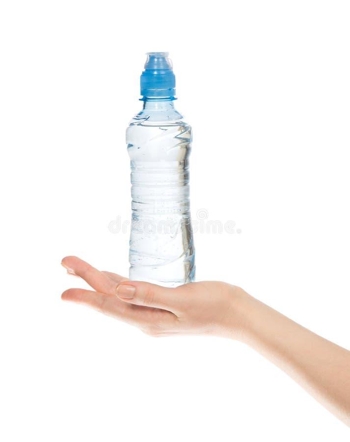 Handgriffflasche Trinkwasser O stockbilder