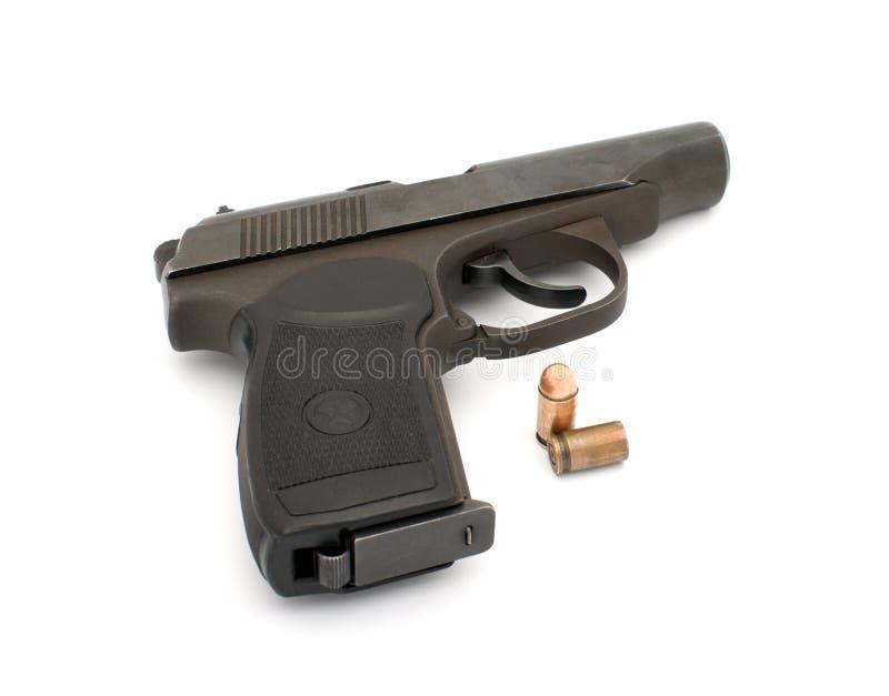Download Handgun. stock photo. Image of metal, criminal, ammunition - 13389536