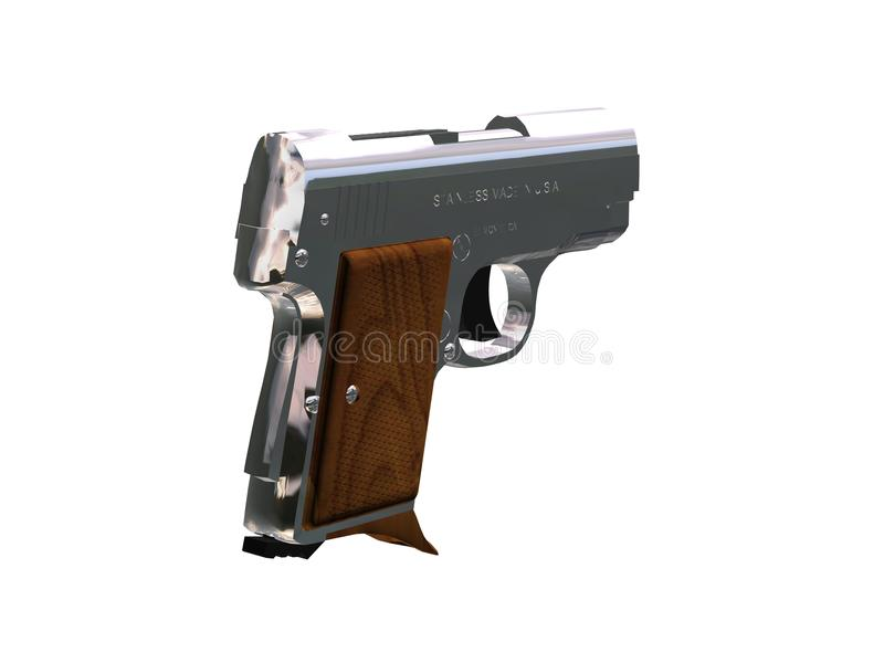 Download Handgun stock illustration. Image of arms, kill, armament - 16537733