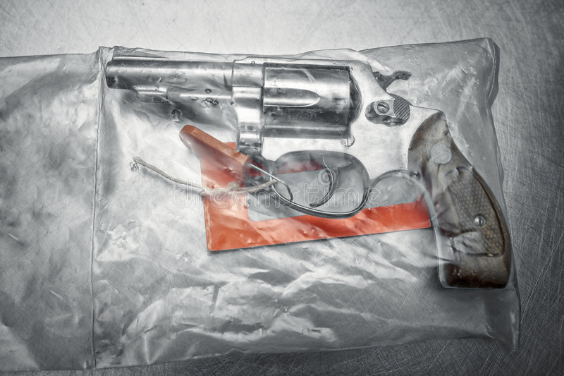 Download Handgun 38 Special Revolver Stock Image - Image of scratched, sealed: 4504533