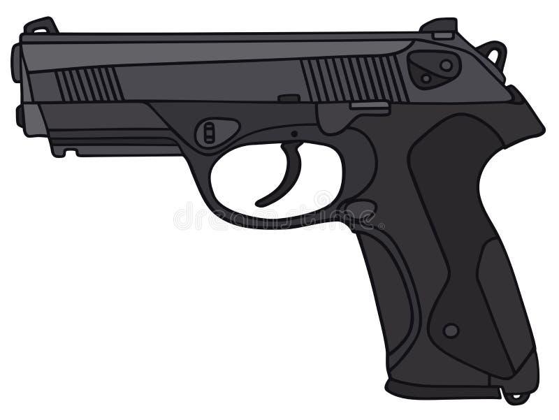 handgun ilustração do vetor