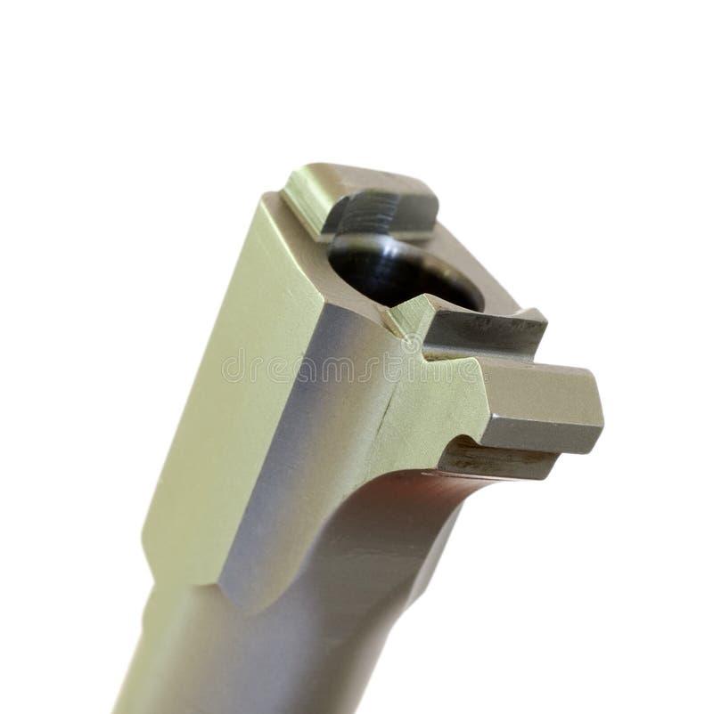 Handgun Chamber Stock Photo