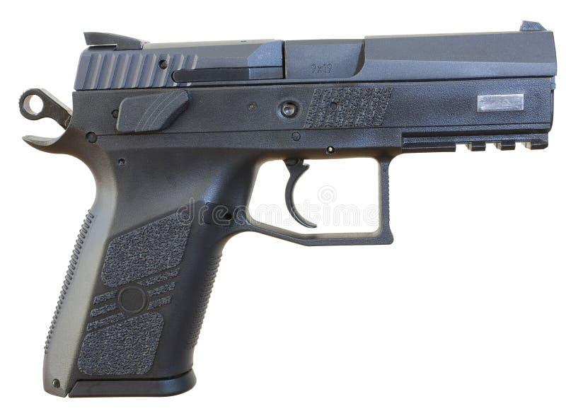Handgun Chambered For 9x19 Stock Photos