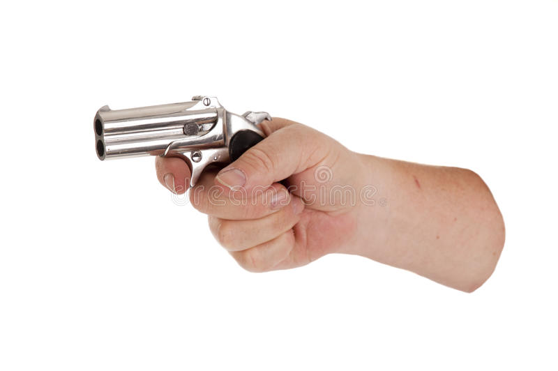 Download Handgun in hand stock photo. Image of protection, weapon - 18870520
