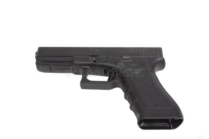 Download Handgun isolated on white stock image. Image of magazine - 5259549