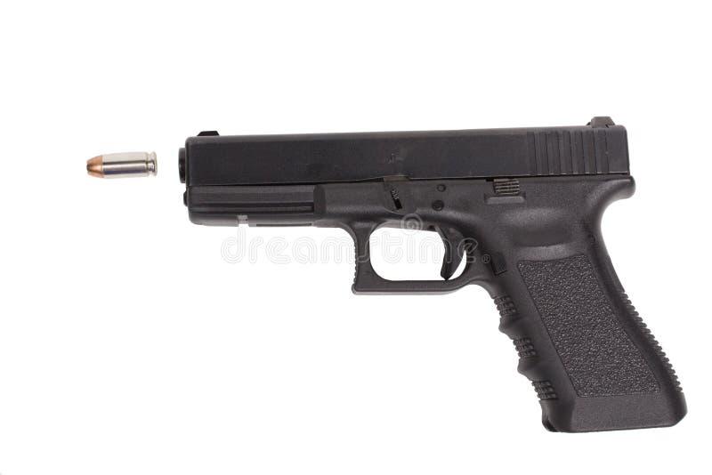 Download Handgun Isolated On White Background Stock Image - Image of service, marksmanship: 5259563