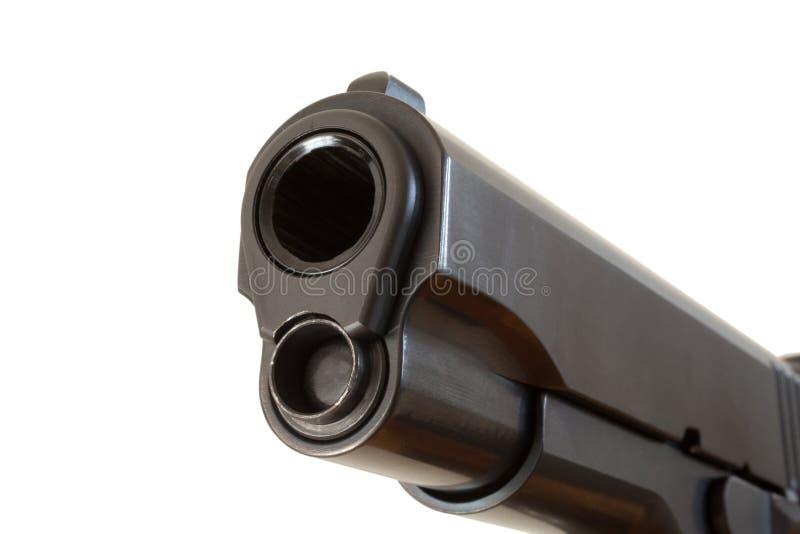 Barrel of a handgun