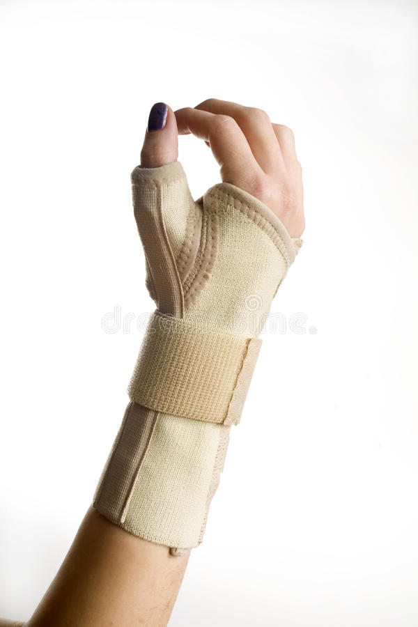 Handhandgelenk-Support stockbild