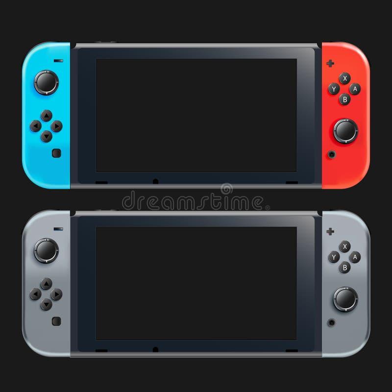 Handheld файл consoleeps игры стоковая фотография