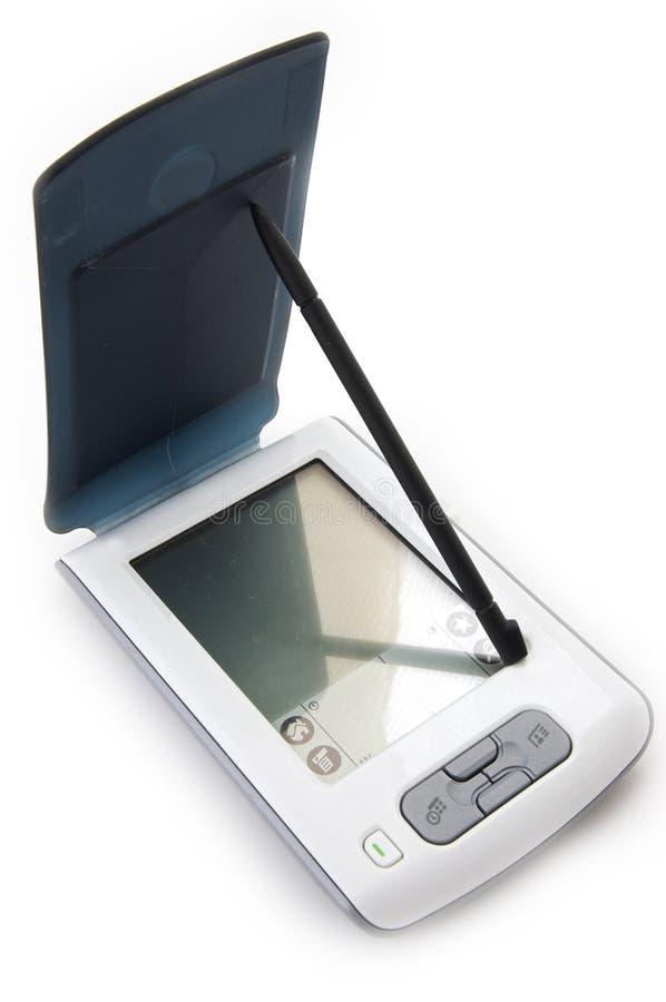 handheld dator arkivbild