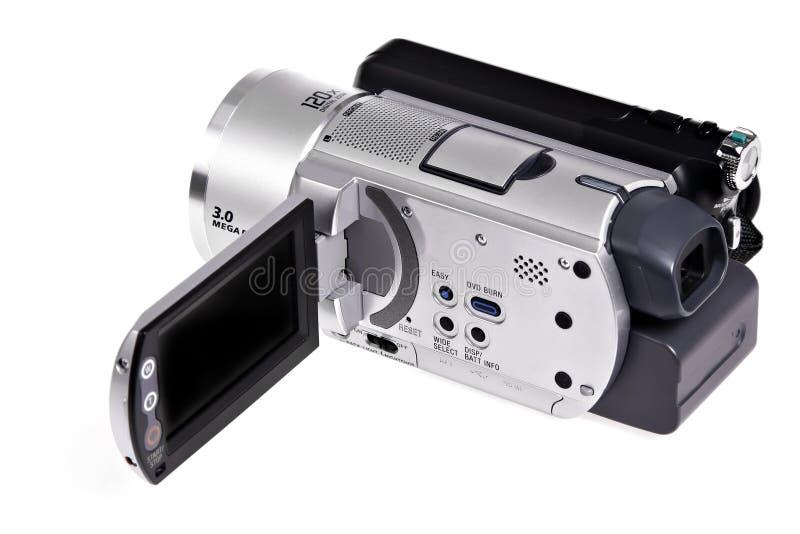 Handheld digital camcorder royaltyfria foton