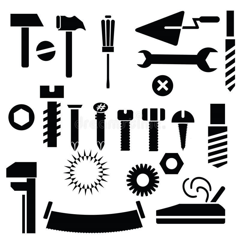 Handhulpmiddelen stock illustratie