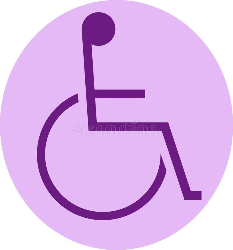 Handicapé illustration de vecteur